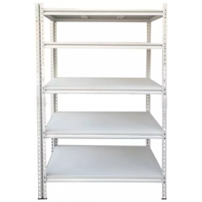 CSPS Steel Shelf 5-levels white 91cm VNSV091A5BT2