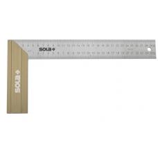 SRB 200 - joiner's square - stainless steel,200x145mm,bliste..