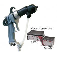 Electrostatic gun Vector R70 Cascade