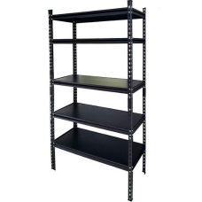 CSPS Steel Shelf 5-levels black 152cm VNSV152A5BB2
