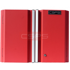 CSPS Red wall cabinet 61 cm – 01 shelf VNGS3352BC12