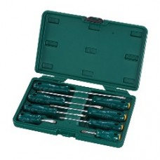 8pc acetate combination screwdriver set