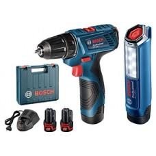 Cordless drill/driver - Combo LI 120-LI (2 battery 1.5 Ah + ..