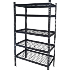 CSPS Shelf 5-levels black 122cm VNSV122A5BB1