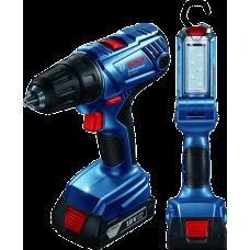 Cordless drill/driver - Combo GSR 180-LI + GLI 180-LI (2 bat..
