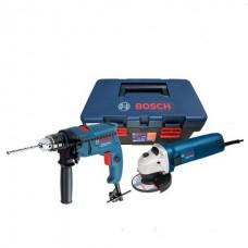 Máy khoan / vặn vít dùng pin -Combo GSB 550 + GWS 060 + Free..
