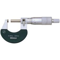 Panme đo ngoài 0-25mm x 0.01mm - Model: 102-301