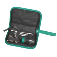 25pc ratcheting stubby screwdriver set