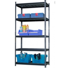 CSPS Shelf 5-levels black 152cm VNSV152A5BB1