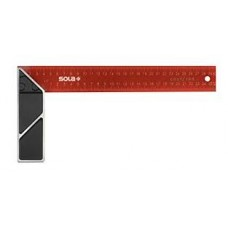 SRC 250 - joiner's square red - powder coated,250x145mm,blis..