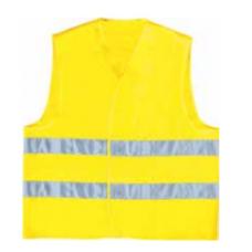 High visibility vest Mallcom COAT BRITE