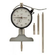 Đồng hồ đo sâu 0-210mm x 0.01/Đế 63.5mm - Model: 7213..
