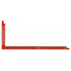 ZWCA 600 - carpenter's square - powd.coated red, w.marking h..
