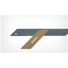 GWG 300 - mitre square - flame-blued, 300x110mm, 6 pcs.