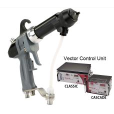 Electrostatic gun Vector R90 Cascade