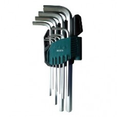 9pc. metric long hex key set