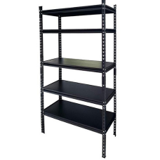 CSPS Steel Shelf 5-levels black 122cm VNSV122A5BB2