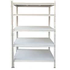 CSPS Steel Shelf 5-levels white 76cm VNSV076A5BT2