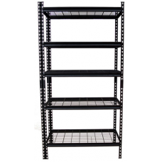 CSPS Shelf 5-levels black 107cm VNSV107A5BB1