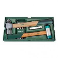 4pc striking tool tray set